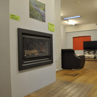 Heater +TV Area